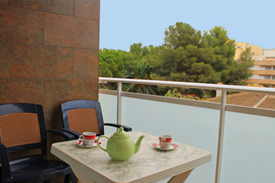 Spain apartments to rent at Calafell beach Costa Daurada